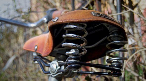 Lepper Drieveer 90 Fahrradsattel Leder Umweltschutz